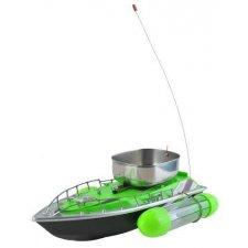 RC rybárska loď na prepravu krmiva