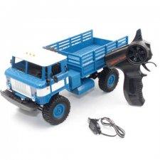 RC vojenský automobil Off-Road RTR 4WD 1:16 modrý