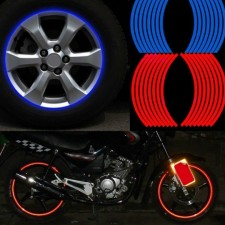 Reflexné nálepky na kolesá