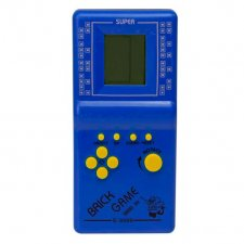 Retro herná konzola 9999in1 – modrá