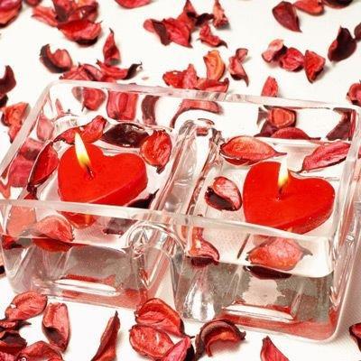 Romantické sviečky