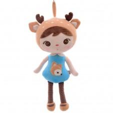 Roztomilá bábika MeToo – Jeleň - 46 cm