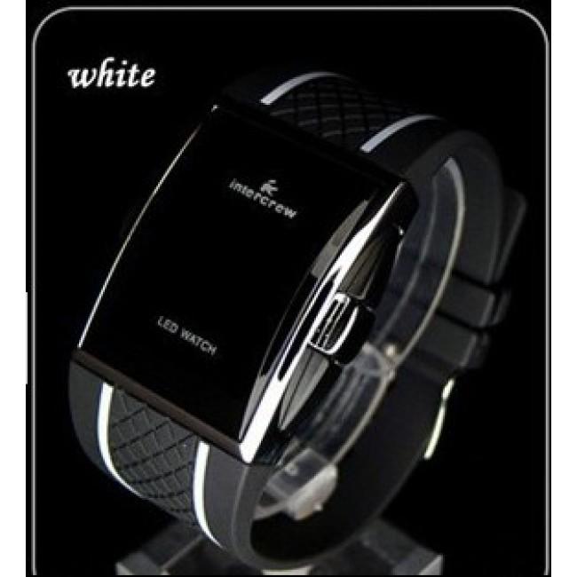 Pánske čierne hodinky intercrew  5562224cb90