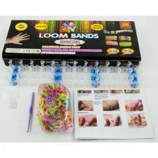 Sada na výrobu farebných náramkov Loom Bands