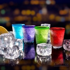 Samochladiace poháriky - farebné