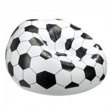 Nafukovací sedací vak – futbalová lopta 90x90cm