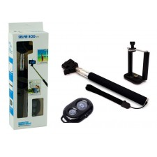 Selfie tyč s bluetooth ovládačom