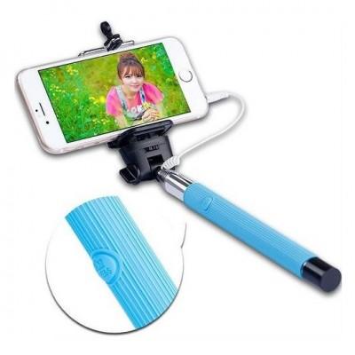 Selfie tyč s káblom