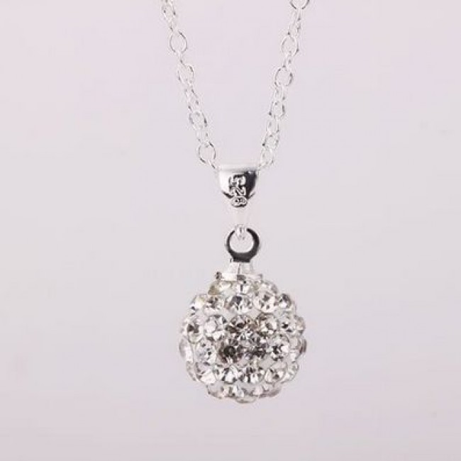 1ae892e29 Shamballa náhrdelník silver | SkvelyDarcek.sk