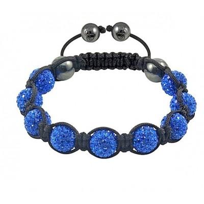 Shamballa náramok BLUE NR299