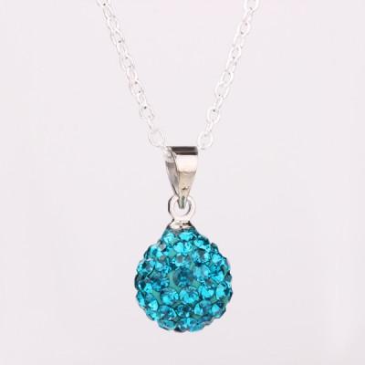 Shamballa náhrdelník dark Azure