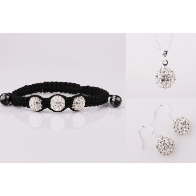 Shamballa NEW Silver set