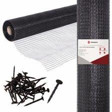 Sieť proti krtkom SPRINGOS - 2x50m + kolíky