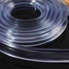 Silikónová ochranná lepiaca páska – priesvitná – 100 cm