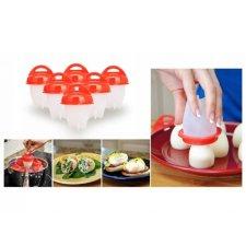 Silikónové formy na varenie vajec - 6ks