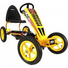 Šliapacia motokára Gokart 13 - Žltá