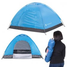 SPRINGOS Turisticky stan pre 2 osoby s UV filtrom 2x1,5m - modrý