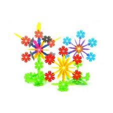 Stavebnica Snehové vločky – vzdelávacia hračka - 240 ks