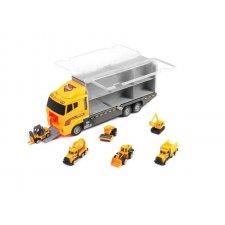 Stavebný transportér + vozidlá
