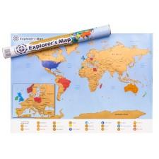 Stieracia mapa pre cestovateľov