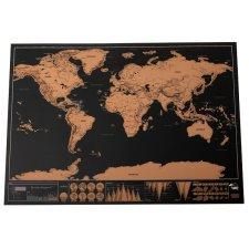 Stierateľná mapa sveta: 42x30