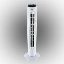 Stĺpový ventilátor s diaľkovým ovládačom - biela - 74 cm - 50 W