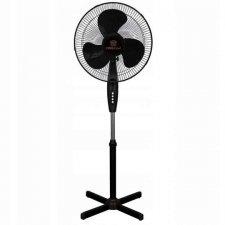 Stojanový ventilátor - 40 cm - 40W - čierny
