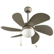 Stropný ventilátor - 76 cm - 50 W - sivá farba