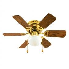 Stropný ventilátor - 76 cm - 50 W - zlatá farba
