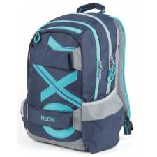 Školský batoh OXY Sport BLUE LINE Tyrkys