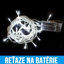 LED Vianočné reťaze na batérie