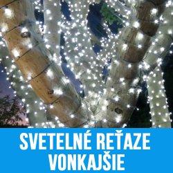 LED Vianočné reťaze vonkajšie
