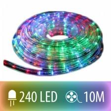 SVETELNÝ LED HAD COLOR MIX 240LED 10M