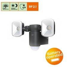 Svietidlo GP Safeguard RF2.1 s PIR čidlom, 3x AA,120lm