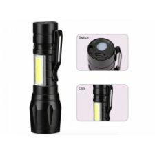 Taktická baterka LED COB