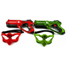 TERRITORY Laser Game DUO pack set 2 pištole + 2 masky