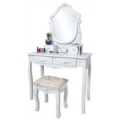 Toaletný kozmetický stolík Vintage Style