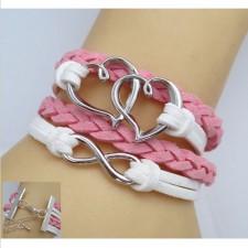 Trendy náramok Heart pink