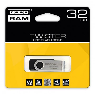 USB kľúč GoodRam-gooddrive Twister 32GB