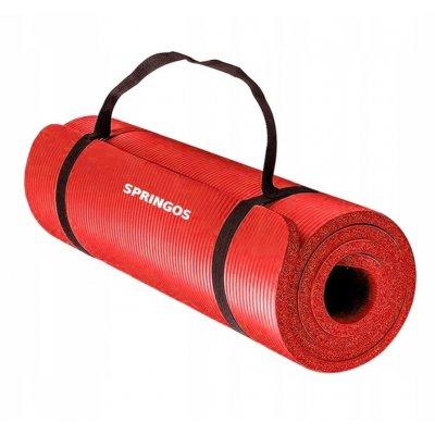Univerzálna Fitness Yoga podložka - červená
