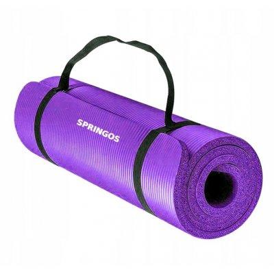 Univerzálna Fitness Yoga podložka - fialová