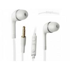 Univerzálne slúchadlá s mikrofónom: biele