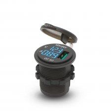 USB zásuvka zabudovateľná na miesto autozapaľovača III