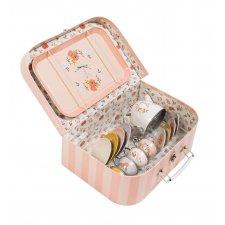 Čajový set v kufríku