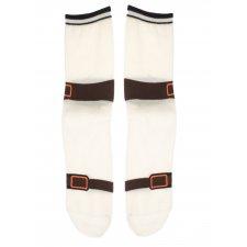 Ponožky s motívom Sandále