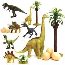 Sada figúrok dinosaurov 14 ks