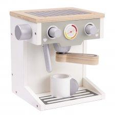 Drevený kávovar + hrnček