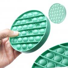 Antistresová hračka Push Bubble Pop Fidget zelený kruh