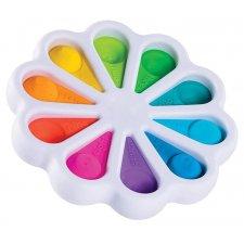 Antistresová hračka Push Bubble Pop it - farebná paleta