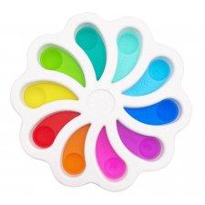 Antistresová hračka Push Bubble Pop it - farebná paleta II